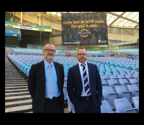 Towards Zero signage at ANZ Stadium