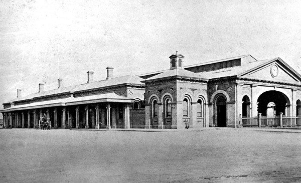 The second Sydney Station in 1875, until it was demolished in 1906. The second Sydney Station in 1875, until it was demolished in 1906.