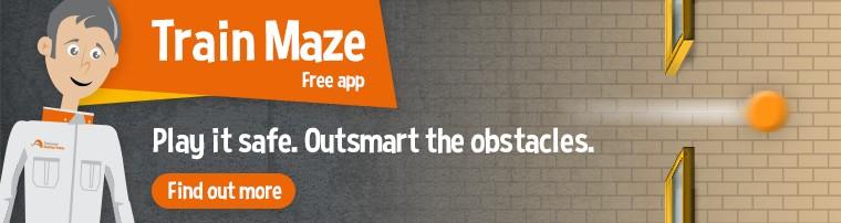 Train Maze app