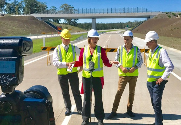 Woolgoolga to Halfway Creek Pacific Highway upgrade opening