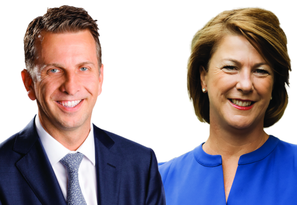 Andrew Constance and Melinda Pavey