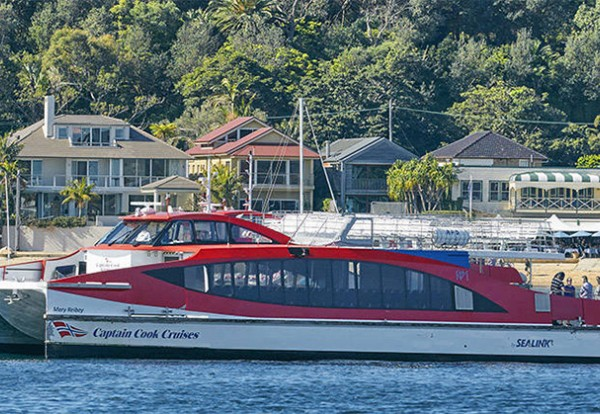 Captain Cook Cruises Watsons Bay Ferry